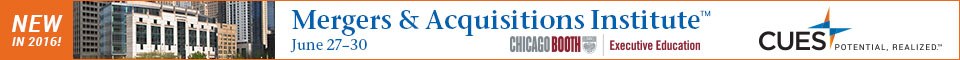 CUES Mergers & Acquisitions Institute