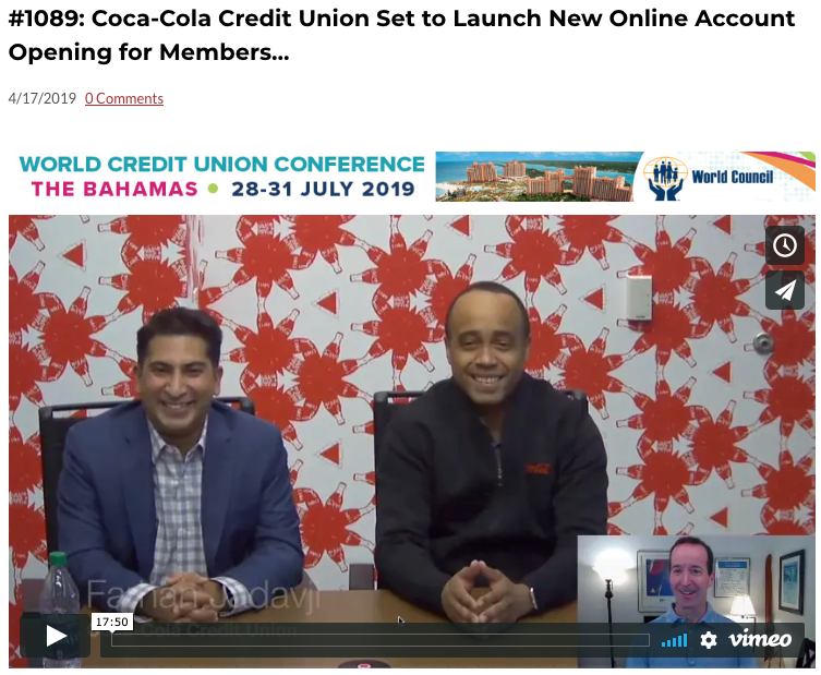 Bankjoy and Coca-Cola Credit Union