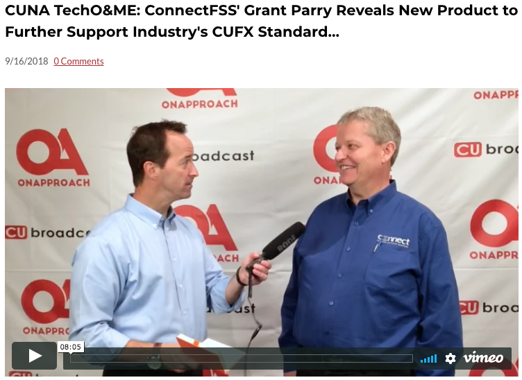 Connect FSS's Grant Parry at CUNA Technology Council Conference