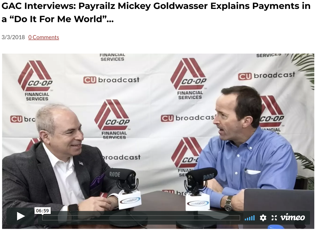 Payrailz Mickey Goldwasser